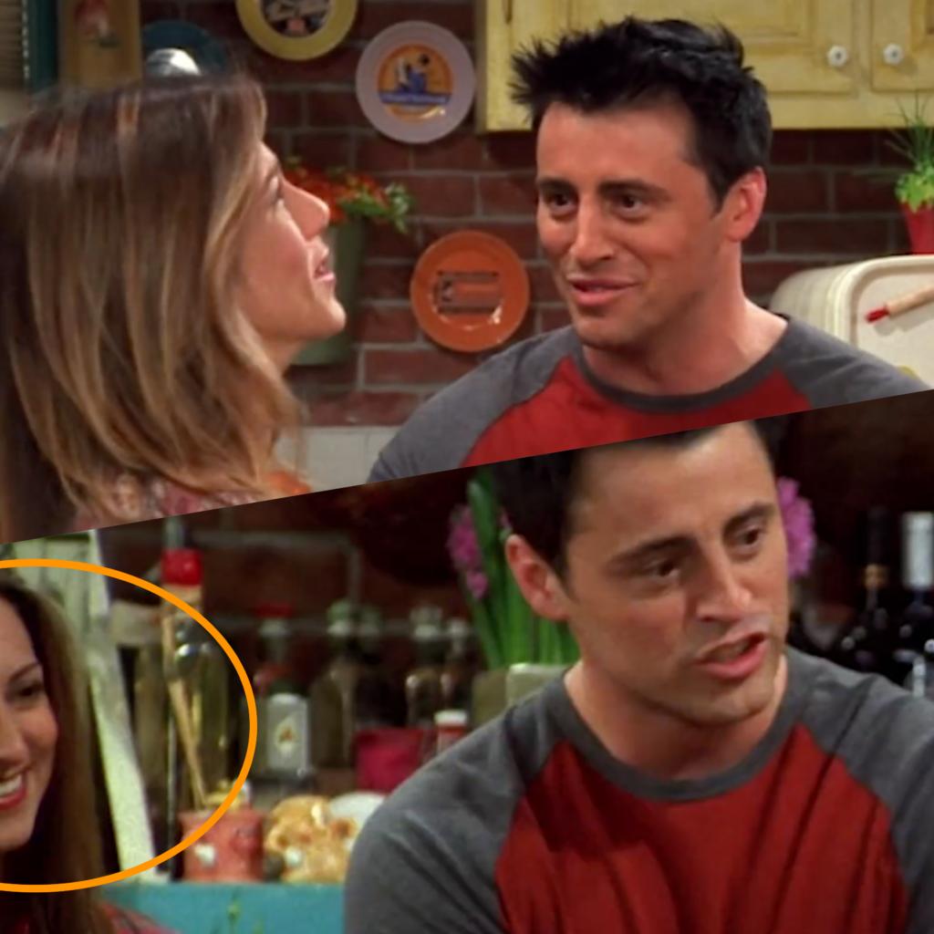 То же самое случается с Рэйчел, когда она говорит с Джо!