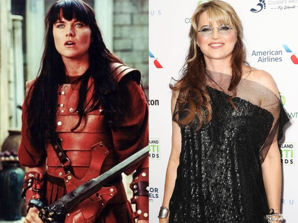 Люси Лоулесс (50) – главная героиня «Зена – королева воинов» до сих пор снимается в фильмах ее последняя работа — в сериале «Эш против зловещих мертвецов»