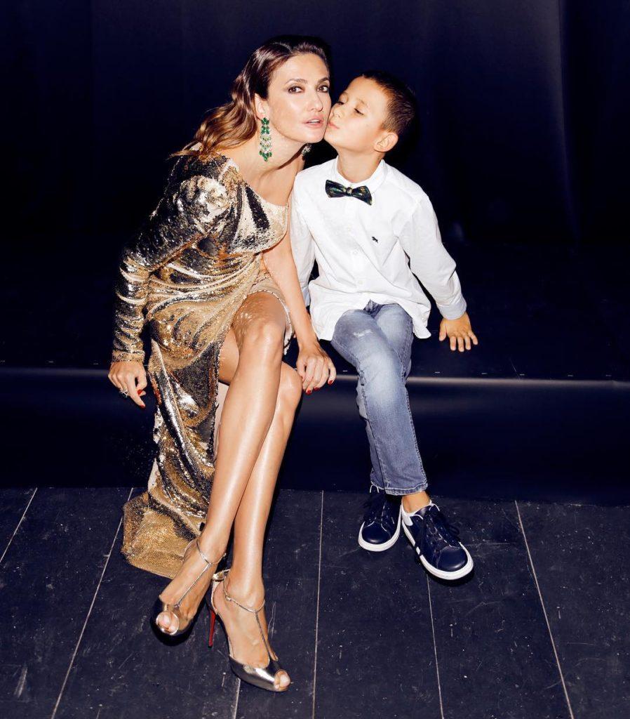 Снежана Георгиева с сыном Гошей, @georgievas