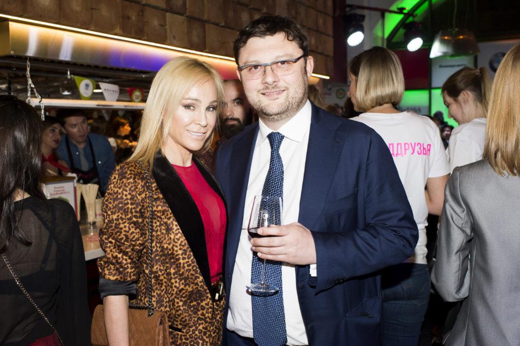 Василий Церетели с супругой Кирой Сакарелло