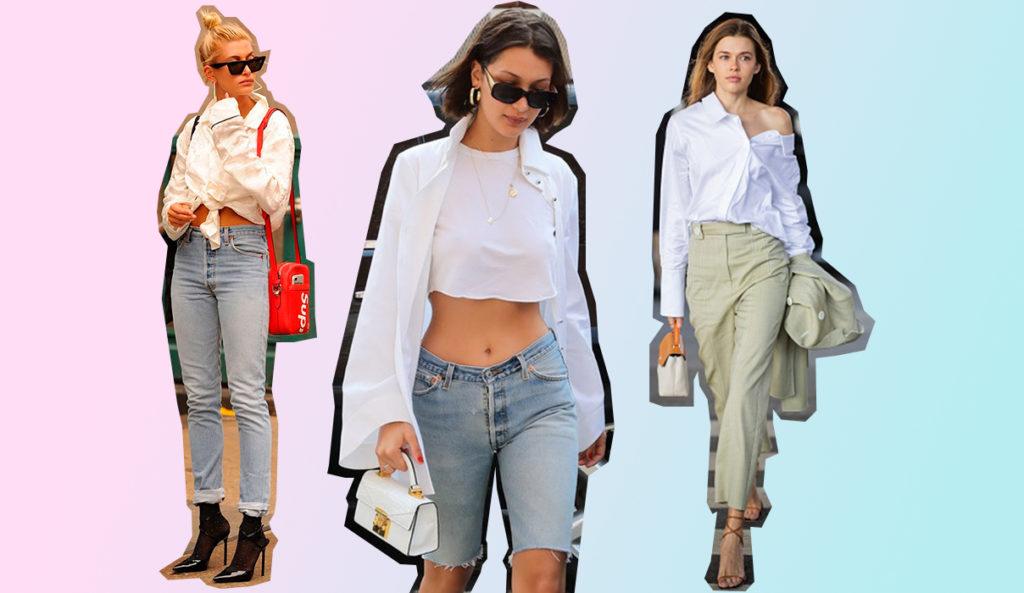 d4eb49869c7 Белая рубашка есть у каждой девушки (нет  Срочно исправь!). И это  универсальный предмет гардероба – и в пир