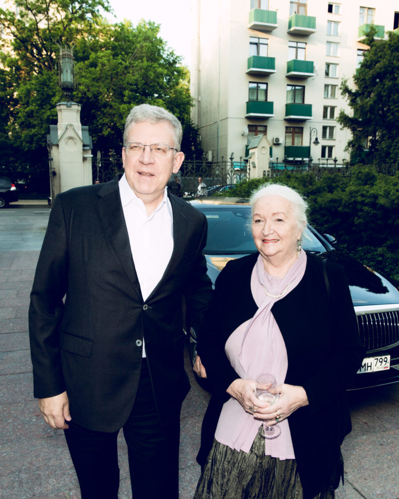 Алексей Кудрин и Татьяна Черниговская