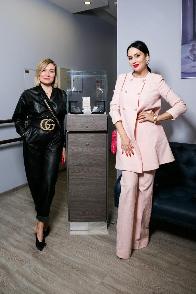 Жанна Левина-Мартиросян и Элина Джанибекян