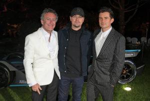 Орландо Блум, Леонардо ДиКаприо и Дуа Липа на премьере документального фильма And We Go Green в Каннах