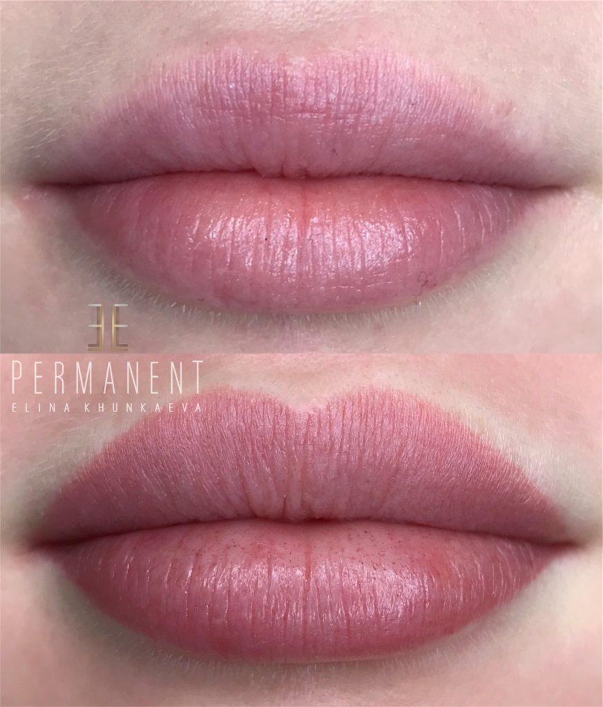 Работы мастеров из студии перманентного макияжа Элины Хункаевой Elle Permanent