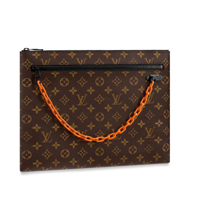 Папка Louis Vuitton, 59000 p. (tsum.ru). Верджил, ну что же ты с нами делаешь!