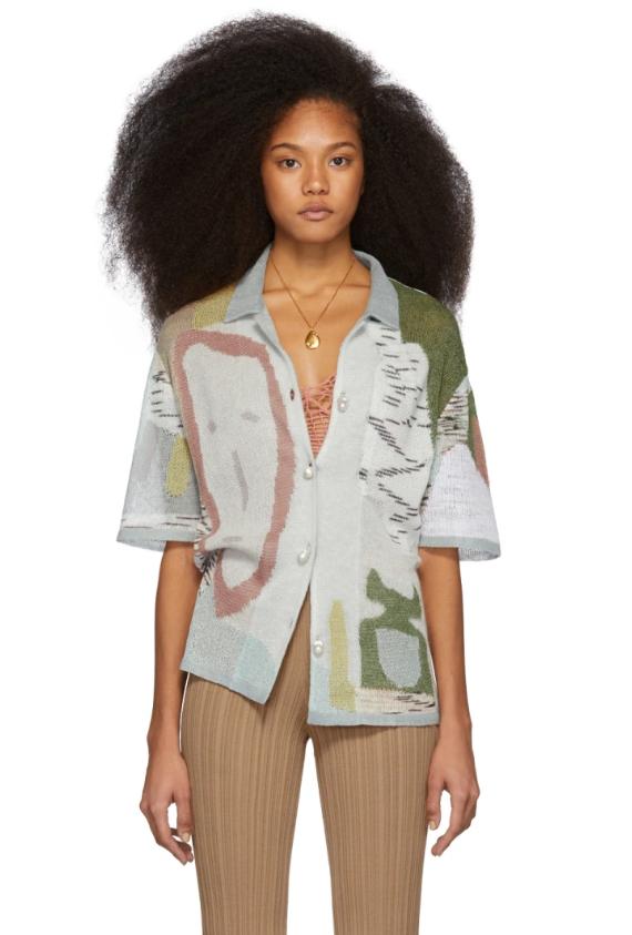Рубашка Missoni, $1131 (ssense.com). Мы в восторге от вышивки