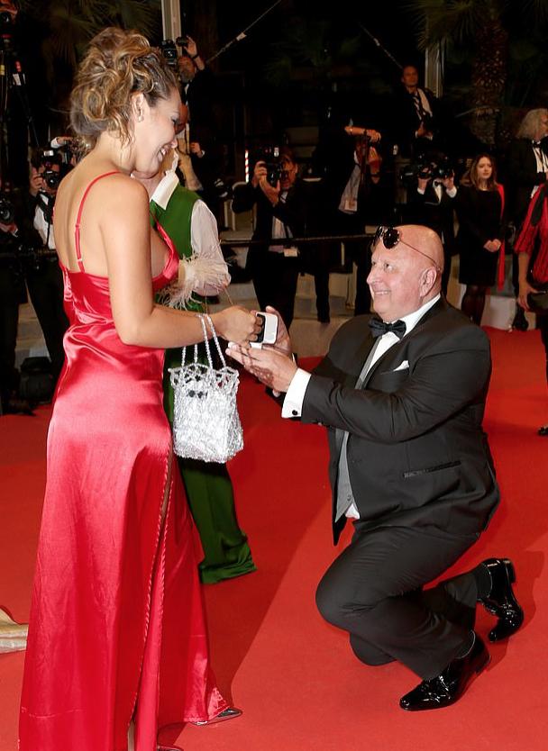 Милос Кант с невестой