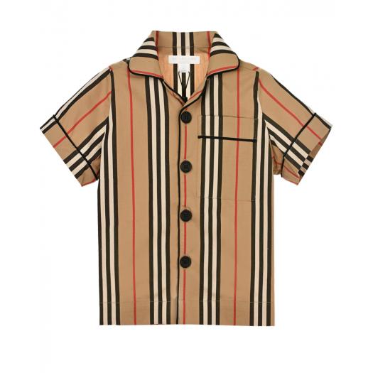BURBERRY, Рубашка с короткими рукавами, 6 999 р. (30%, было: 9 999 р.)