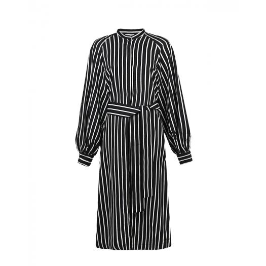 UNLABEL, Платье-рубашка в полоску, 16 500 р. (50%, было: 33 000 р.)