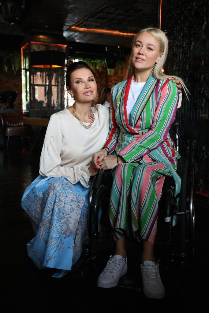 Эвелина Бледанс и Ксения Безуглова