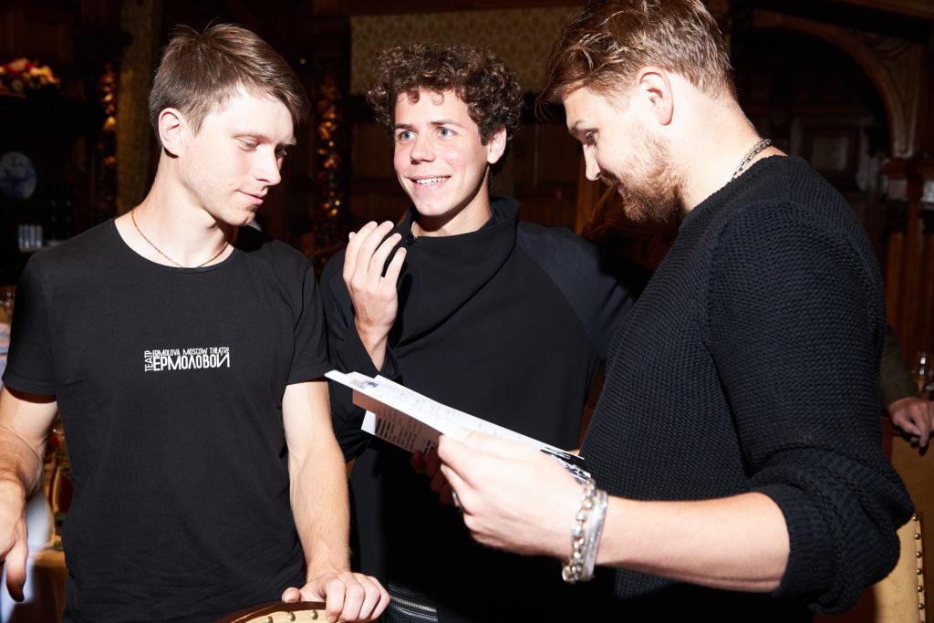 Даниил Могутов, Филипп Ершов и Егор Харламов