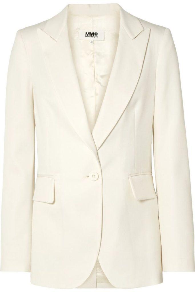 Белый цвет: MM6 Maison Margiela, $925 (net-a-porter.com)