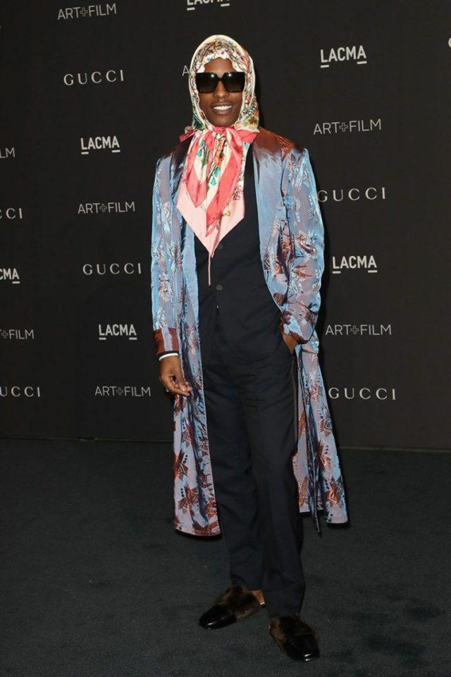 A$AP Rocky в Gucci