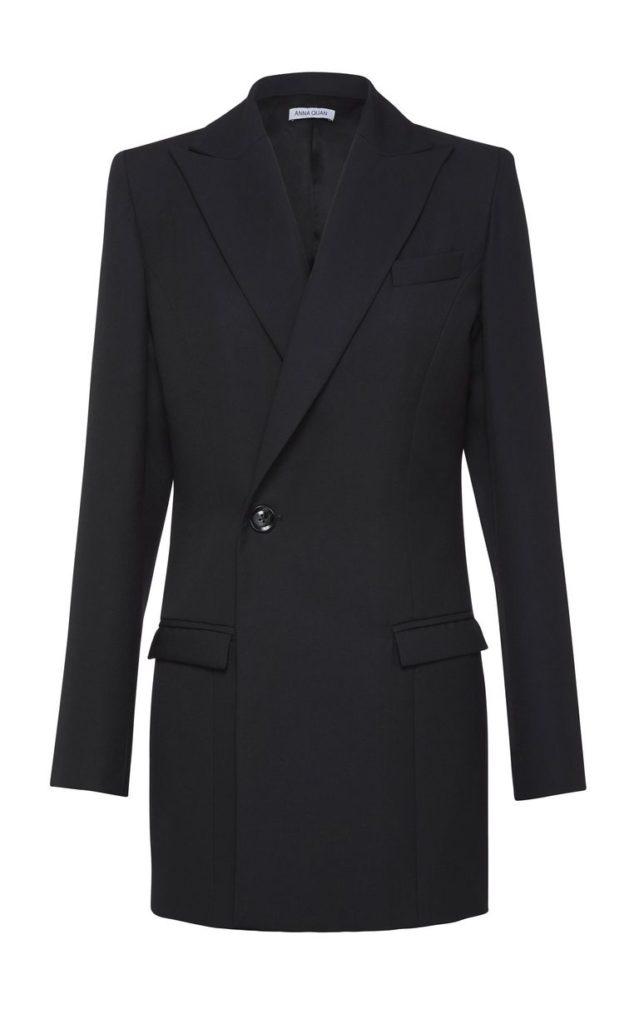 Двубортный пиджак: Anna Quan, $650 (modaoperandi.com)