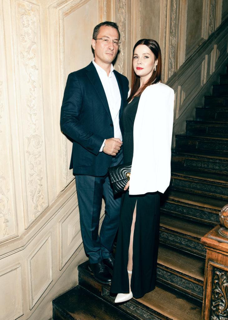 Екатерина Вуличенко с супругом Маратом