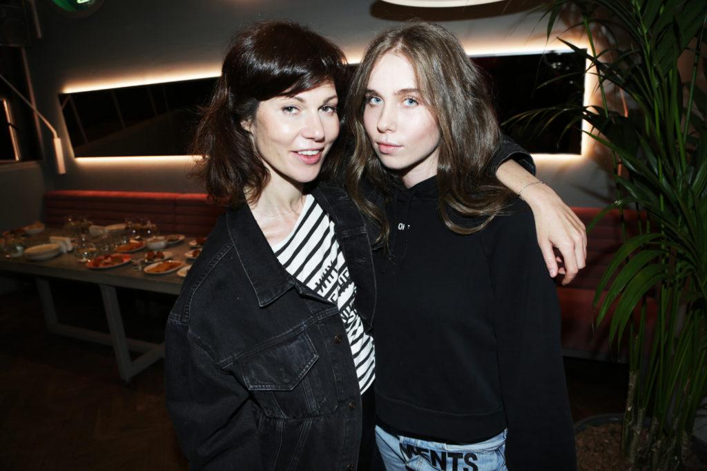 Евгения Линович и дочь Алина
