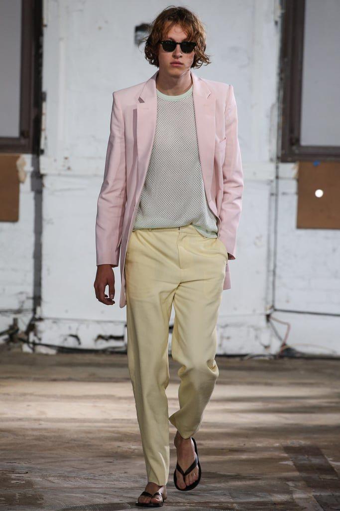 И мужчинам тоже можно - с летними брючными костюмами пастельных оттенков