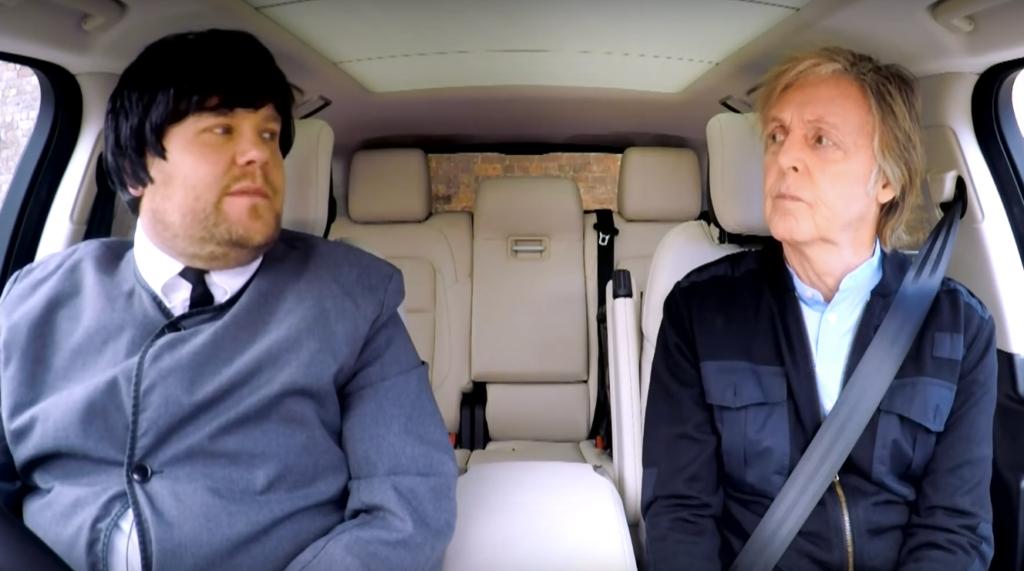 Примерил на себя образ The Beatles и покатался в одной машине с Полом Маккартни!