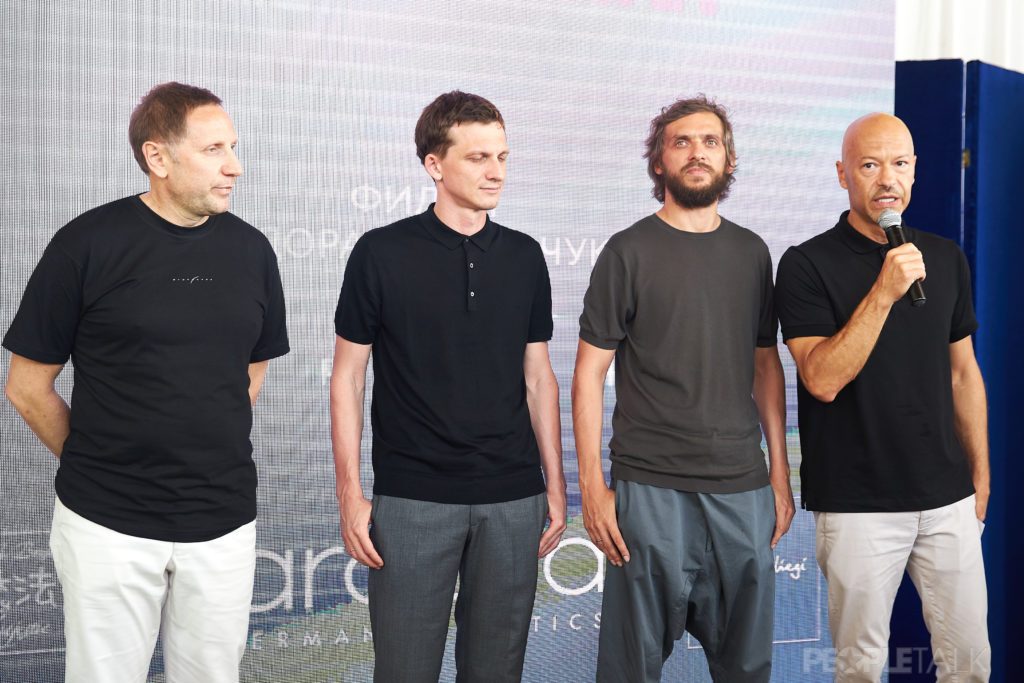 Вячеслав Муругов, Александр Андрющенко, Михаил Врубель и Фёдор Бондарчук