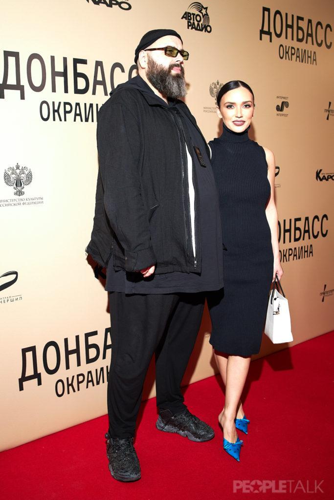 Максим Фадеев и Ольга Серябкина