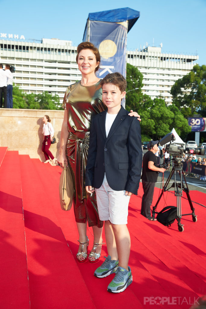 Анна Банщикова с сыном