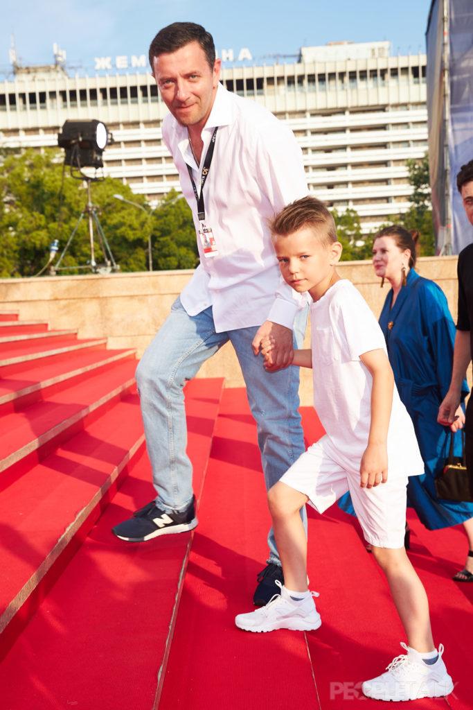 Алексей Агранович с сыном