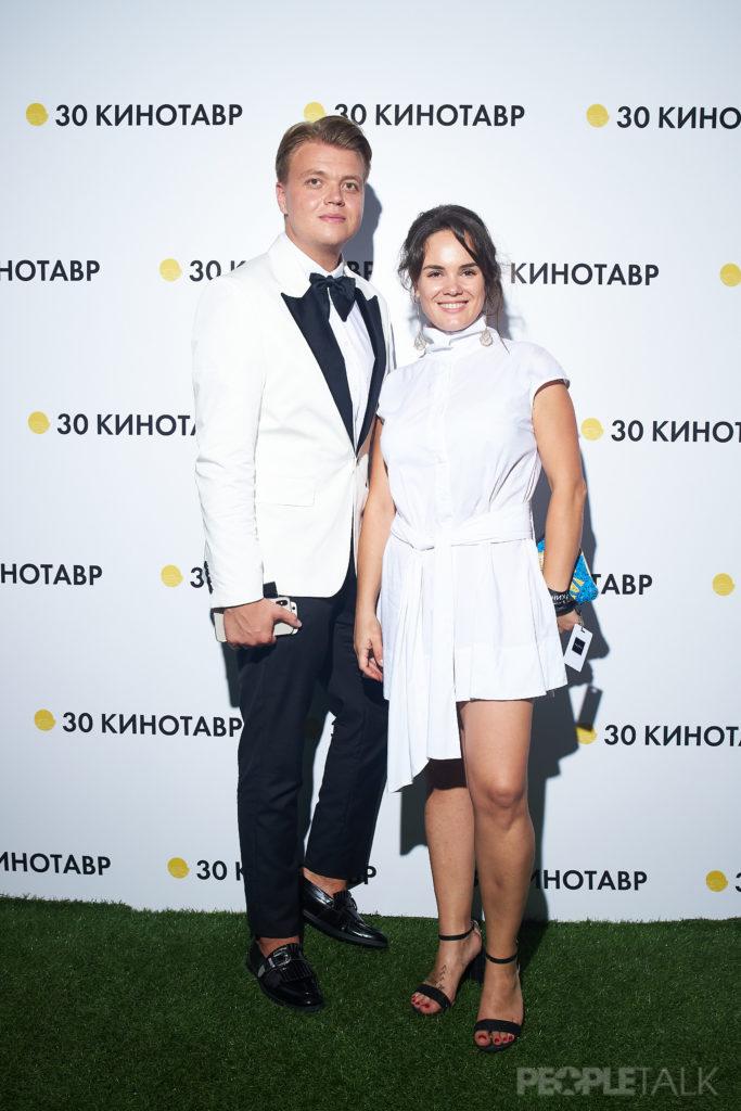 Бренд-директор Cosmopolitan Никита Мартынов и продюсер Анастасия Сайфулина
