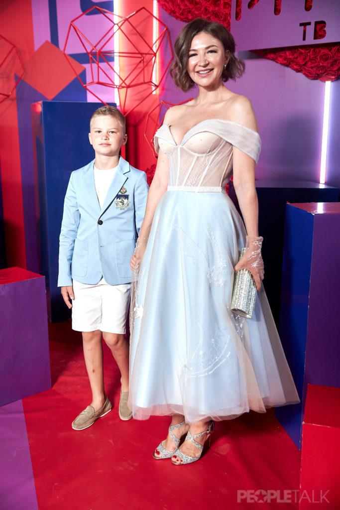 Елена Блиновская с сыном