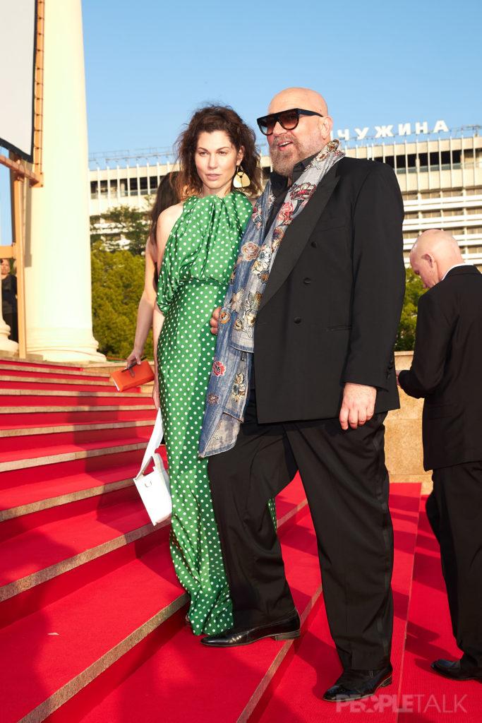 Евгения Линович и Павел Каплевич