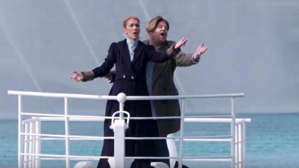 Сделал с Селин Дион то, о чем мечтали мы все - спел с ней песню на носу корабля, как в «Титанике»
