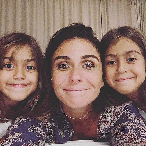 Джованна Антонелли с дочками (Фото: @giovannaantonelli)