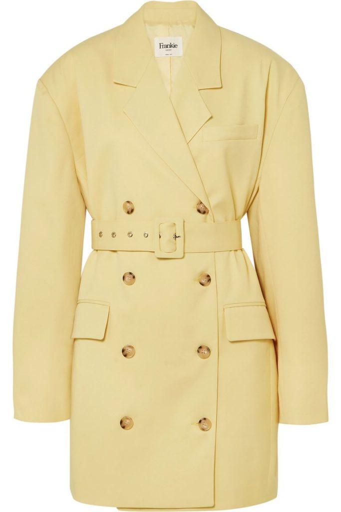 Желтый цвет: Frankie Shop, $290 (net-a-porter.com)