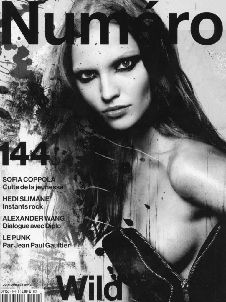 Саша Лусс на обложке Numero