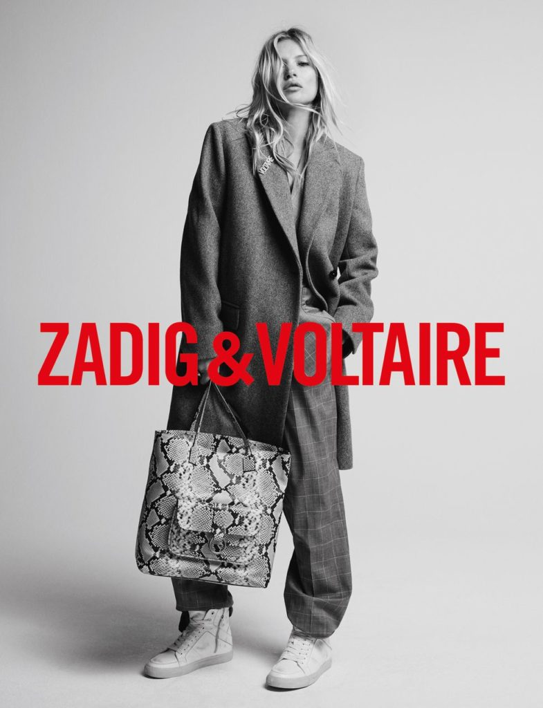 Кейт Мосс для Zadig & Voltaire