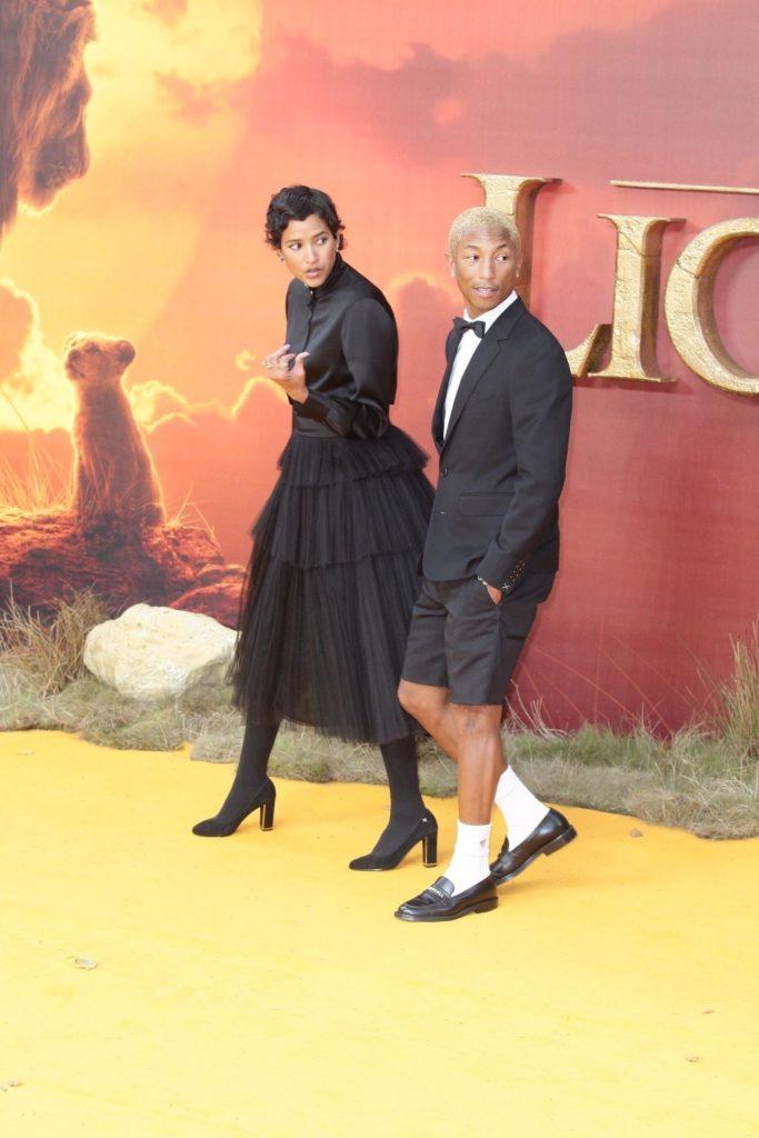 Фаррелл Уильямс с женой, фото legion-media