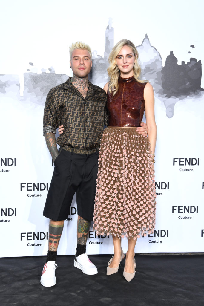 Кьяра Ферраньи с мужем Федезом