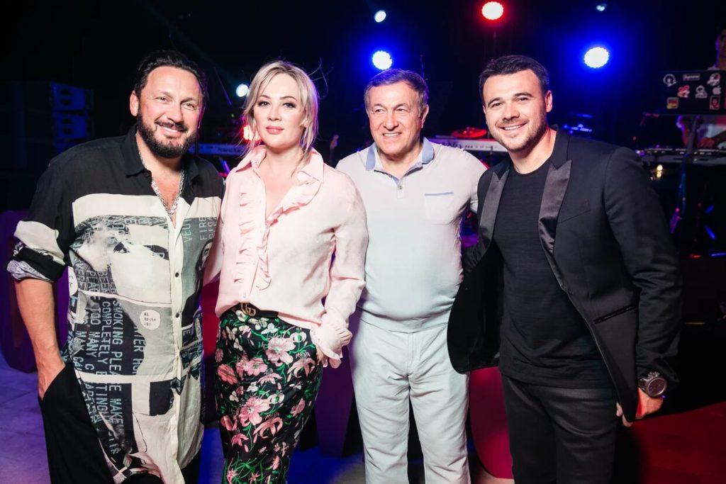 Стас и Инна Михайловы, Эмин и Араз Агаларовы