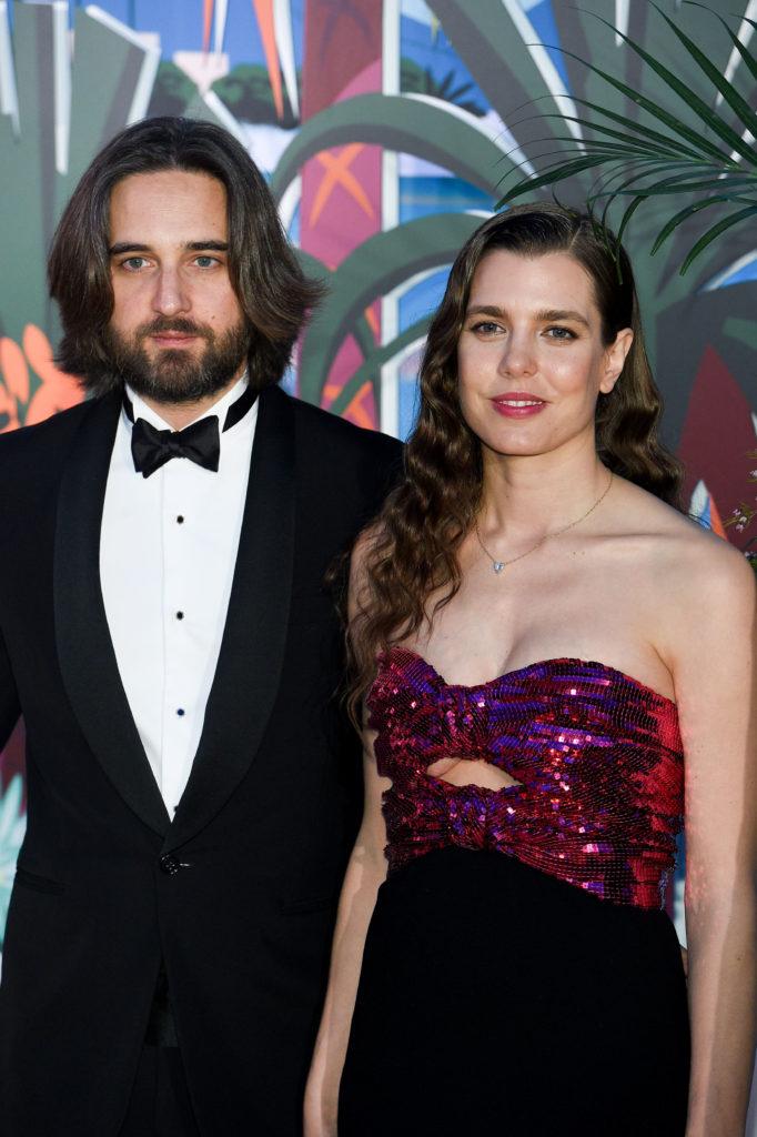 Димитрий Рассам и Шарлотта Казираги, 2019
