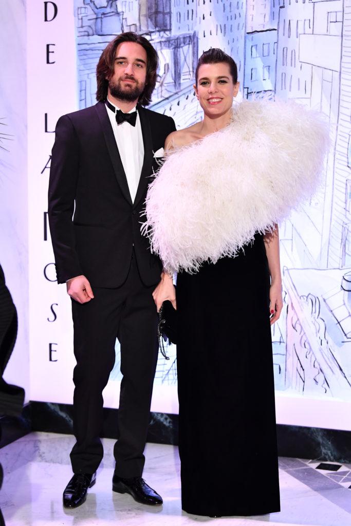 Димитрий Рассам и Шарлотта Казираги, 2018