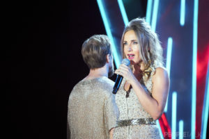 Светлана Лобода, Ольга Серябкина и Тимати на закрытии фестиваля«Жара» в Баку