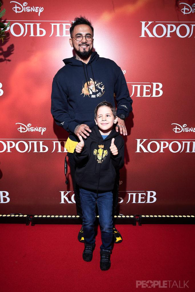 Natan с сыном