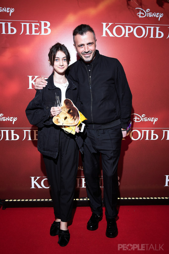 Александр Сирадекиан с дочерью