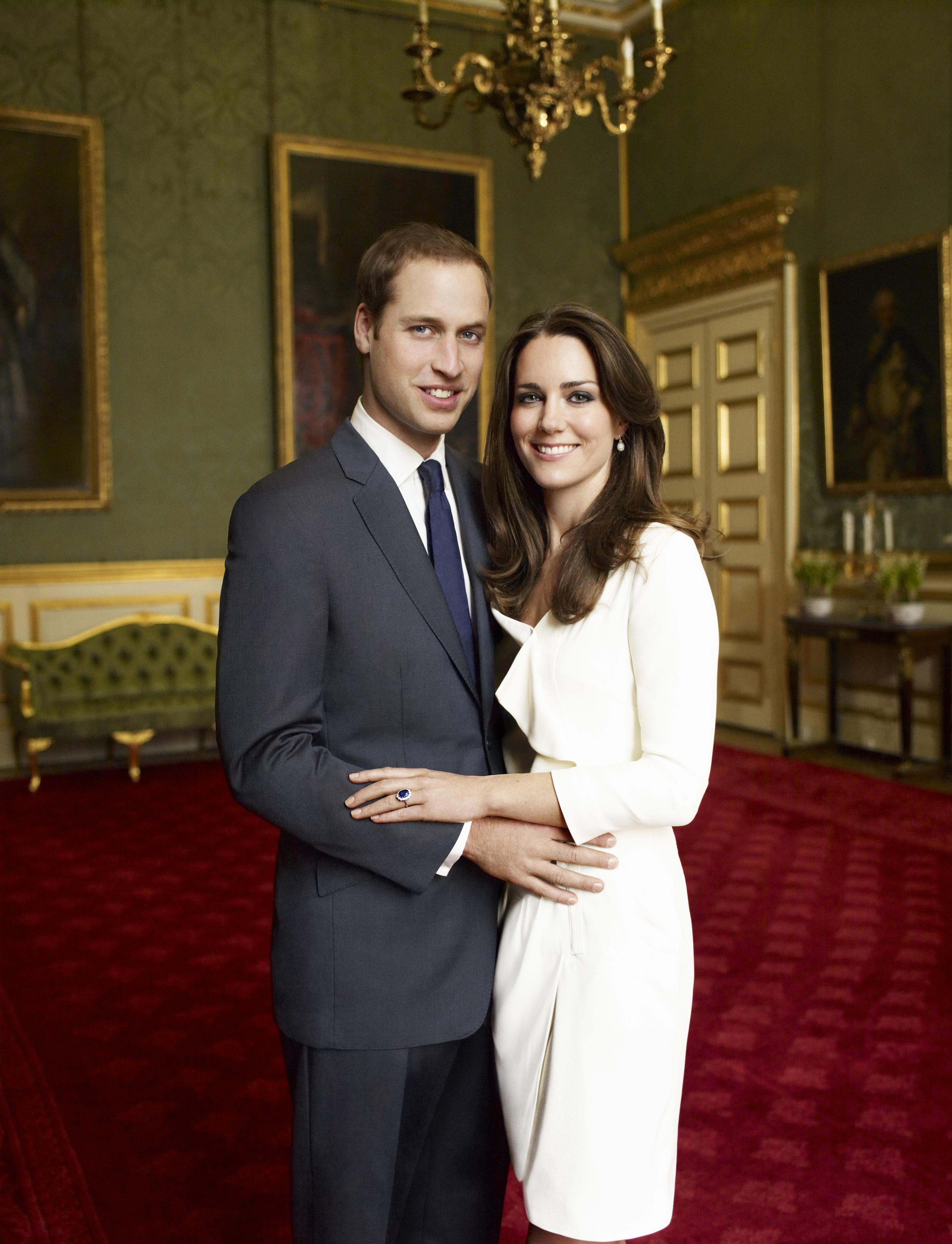 Принц Уильям и Кейт Миддлтон, 2010 (Фото: legion-media.ru)