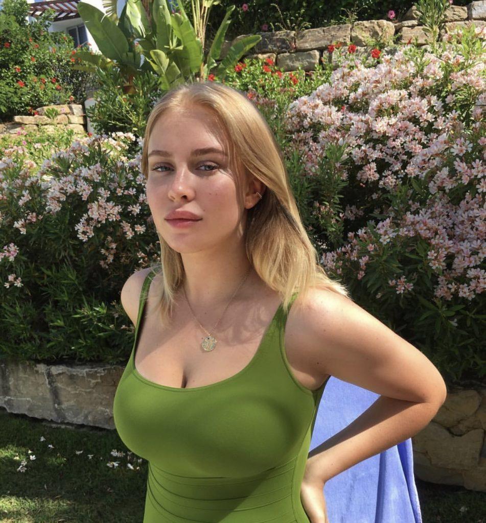 Лиза Мамиашвили (дочь президента федерации спортивной борьбы России Михаила Мамиашвили)