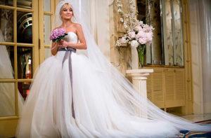 Какое же красивое платье у Хайди! Вспоминаем другие свадебные наряды звёзд