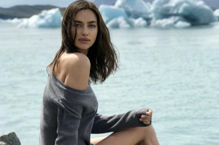 Ирина Шейк в Исландии