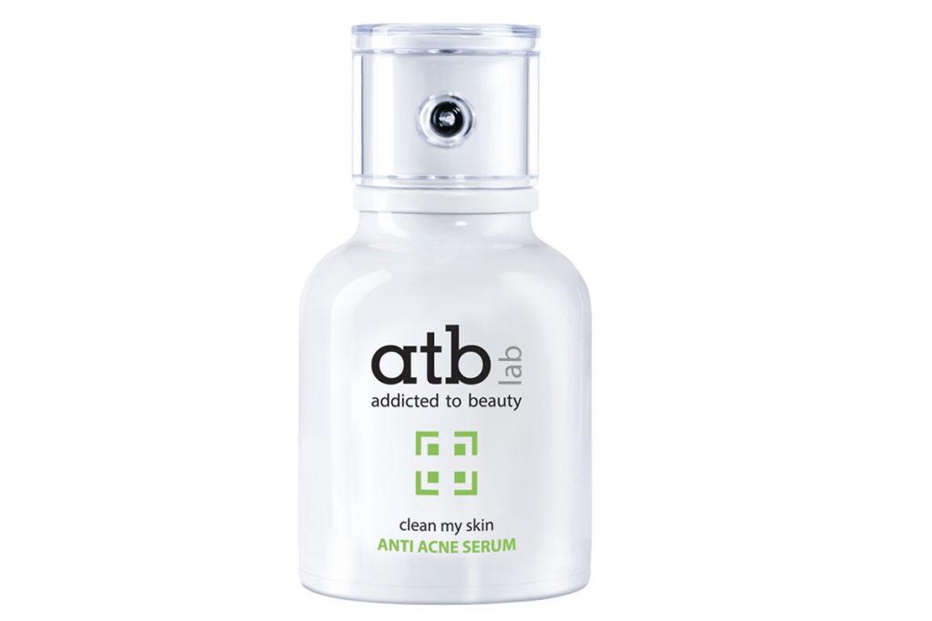 Сыворотка анти-акне atb lab за счет салициловой кислоты и хлорокселинола эффективно удаляет бактерии и справляется с акне