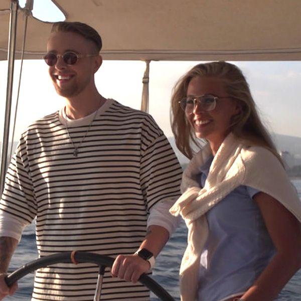 Анастасия Смирнова и Егор Крид