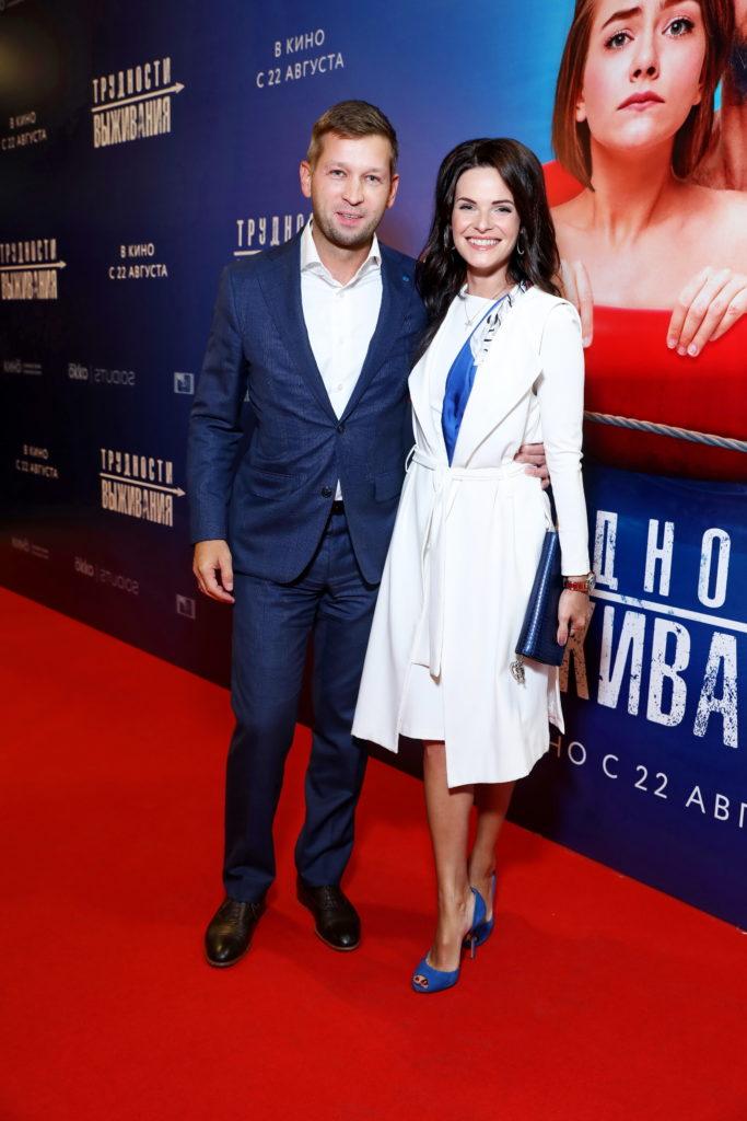 Дмитрий Пристансков и Анна Пескова